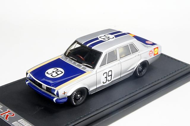 ミニカー 1/43 イグニッションモデル ignition model(IG0172) ニッサン スカイライン 2000GT-R(PGC10) 1969年 JAFグランプリ 優勝 No.39 篠原 孝道