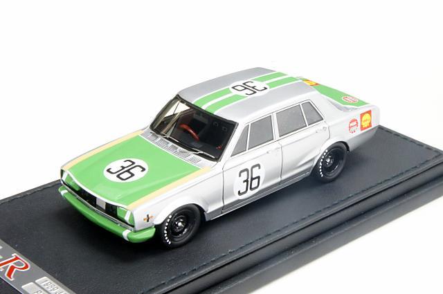 ミニカー 1/43 イグニッションモデル ignition model(IG0173) ニッサン スカイライン 2000GT-R(PGC10) 1969年 JAFグランプリ 2位 No.36 萩原 裕