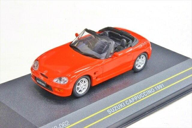 ミニカー 1/43 ファースト43 First:43(F43-062) スズキ カプチーノ 1991年 オープントップ レッド