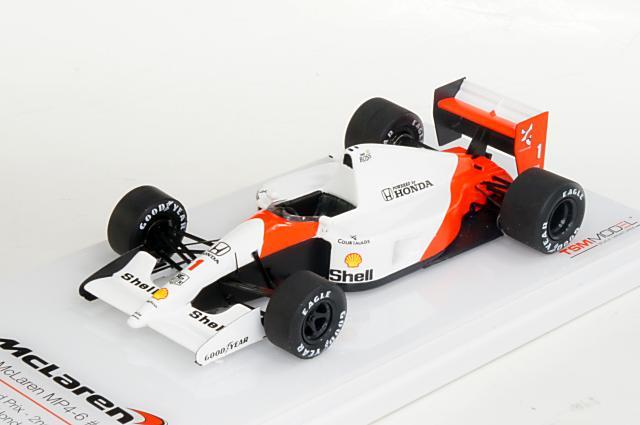 ミニカー 1/43 トゥルースケール TRUE SCALE(TSM144334) マクラーレン MP4/6 1991年 日本GP 2位 No.1 A.Senna
