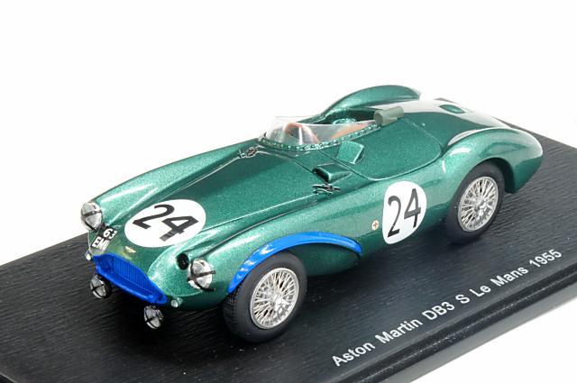 ミニカー 1/43 スパーク Spark(S2421) アストン・マーチン DB3S 1955年 ルマン24時間 No.24 P.Walker/R.Salvadori