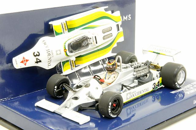 ミニカー 1/43 ミニチャンプス MINICHAMPS(400800034) ウイリアムズ フォード FW07 E .ヴィッロータ スペインGP 1980
