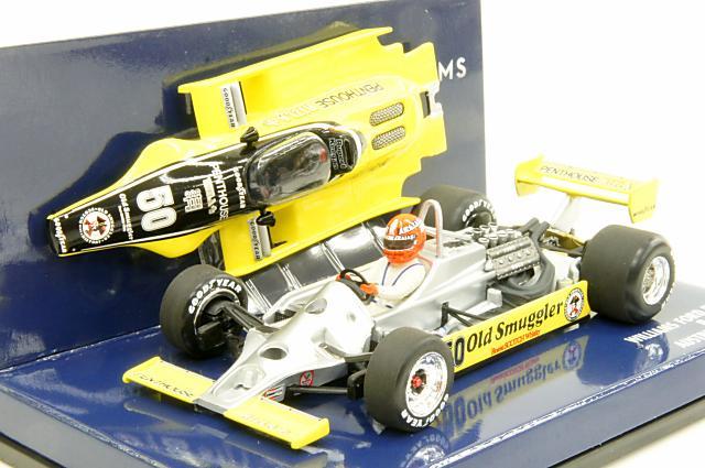 ミニカー 1/43 ミニチャンプス MINICHAMPS(400800150) ウィリアムズ フォード FW07 R.Keegan オーストリアGP 1980