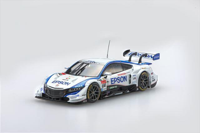 ミニカー 1/43 エブロ EBBRO(45274) エプソン NSXコンセプト-GT 2015年 スーパーGT 500クラス Rd.1 岡山 No.64 中嶋 大祐/ベルトラン・バゲット