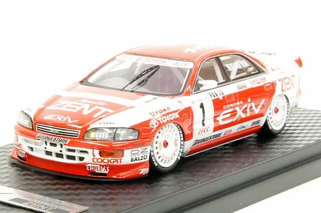 ミニカー 1/43 イグニッションモデル ignition model(IG0264) ゼント トヨタ エクシヴ #1 1995 JTCC
