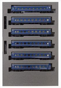 KATONゲージ 14系15形寝台特急あかつき佐世保編成(6両) 鉄道模型 10-1361