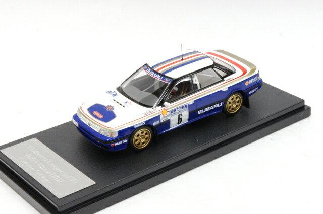 ミニカー 1/43 ミラージュ/エイチピーアイ MIRAGE/hpi スバル レガシー RS マンクス '1991 #6 C.McRae/D.Ringer(8269)