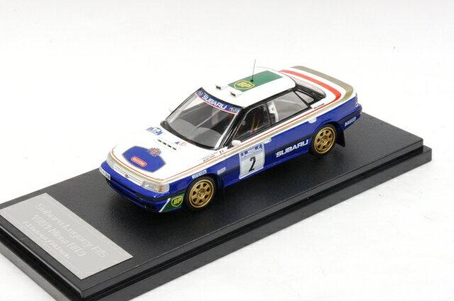 ミニカー 1/43 ミラージュ/エイチピーアイ MIRAGE/hpi スバル レガシー RS マンクス '1991 #2 F.Chatriot/M.Perin(8270)