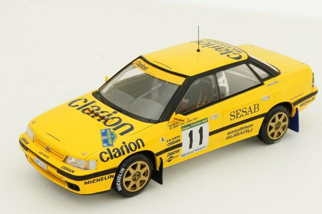 ミニカー 1/43 ミラージュ/エイチピーアイ MIRAGE/hpi スバル レガシィ RS 1992 スウェーデン #11 P.Eklund/J.Johansson(8273)