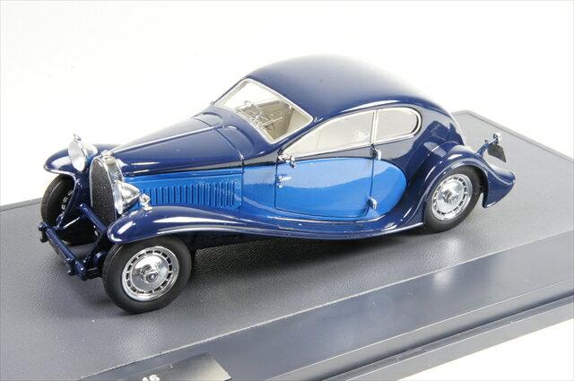 ミニカー マトリックス (MX40205-012) ブガッティ タイプ46 スーパープロファイル クーペ 1931 ブルー
