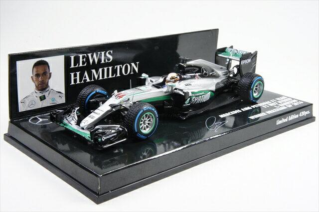 ミニカー ミニチャンプス (417160644) 1/43 メルセデス AMG ペトロナス フォーミュラ1チーム F1 W07 ハイブリッド ルイス・ハミルトン ブラジルGP 2016 ウイナー