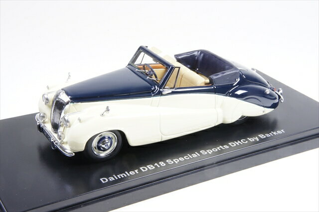 【30%OFF】ミニカー ネオ (NEO46820) 1/43 ダイムラー DB18 スペシャルスポーツ Barker 1952 ベージュ/ダークブルー