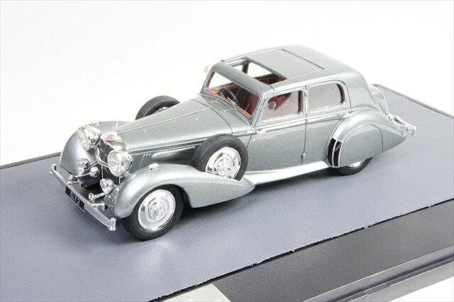 【30%OFF】ミニカー マトリックス (MX10105-041) アルヴィス Charlesworth サルーン 1938 メタリックグレー