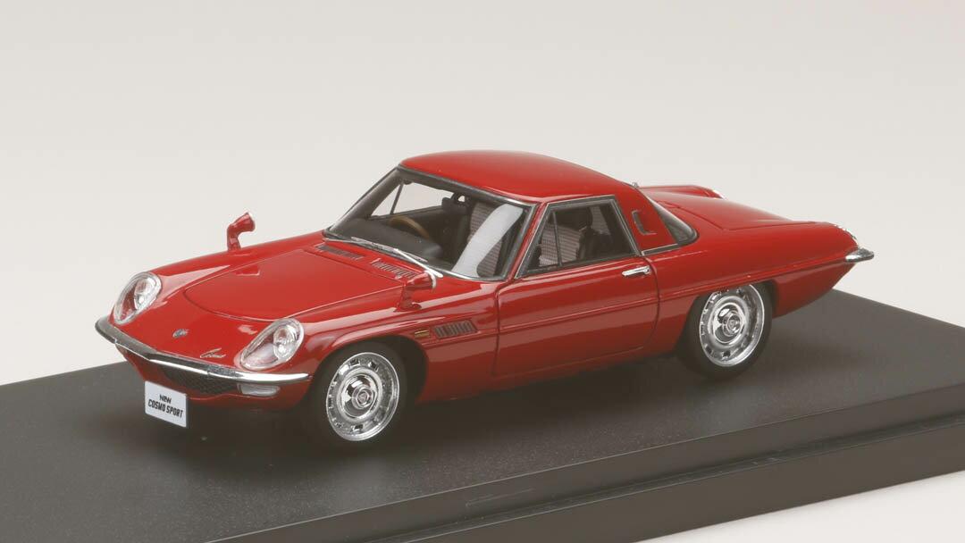 ミニカー MARK43 (PM4381R) 1/43 マツダ コスモスポーツ (L10B) 1967 レッド