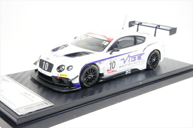 ミニカー ALMOST REAL (AL430317) ベントレー コンチネンタル GT3 ジョーダン ウィット レーシング No.10 2016 GT CUPシリーズ チャンピオン
