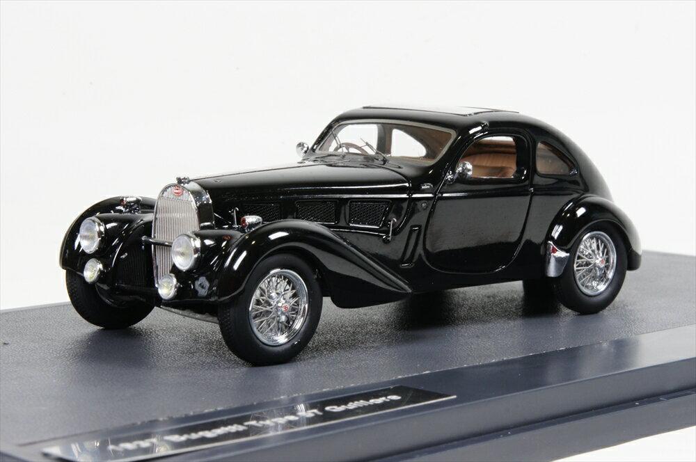 ミニカー マトリックス (MX40205-061) 1/43 ブガッティ T57 Guillore 1937 ブラック