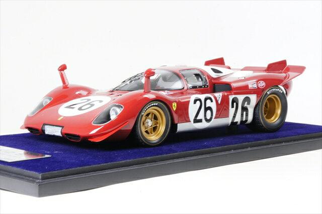 ミニカー ルックスマート (LS18_08C) 1/18 フェラーリ 512S デイトナ24時間 1970 No.26 スクーデリア フェラーリ