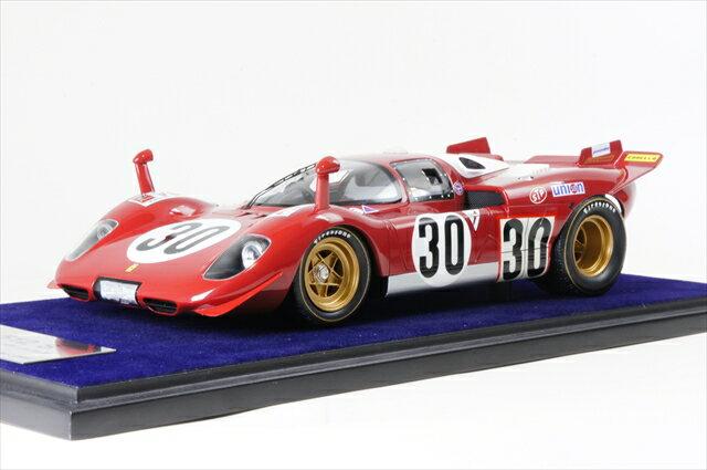 ミニカー ルックスマート (LS18_08D) 1/18 フェラーリ 512S デイトナ24時間 1970 No.30 スクーデリア ピッチオロッソ