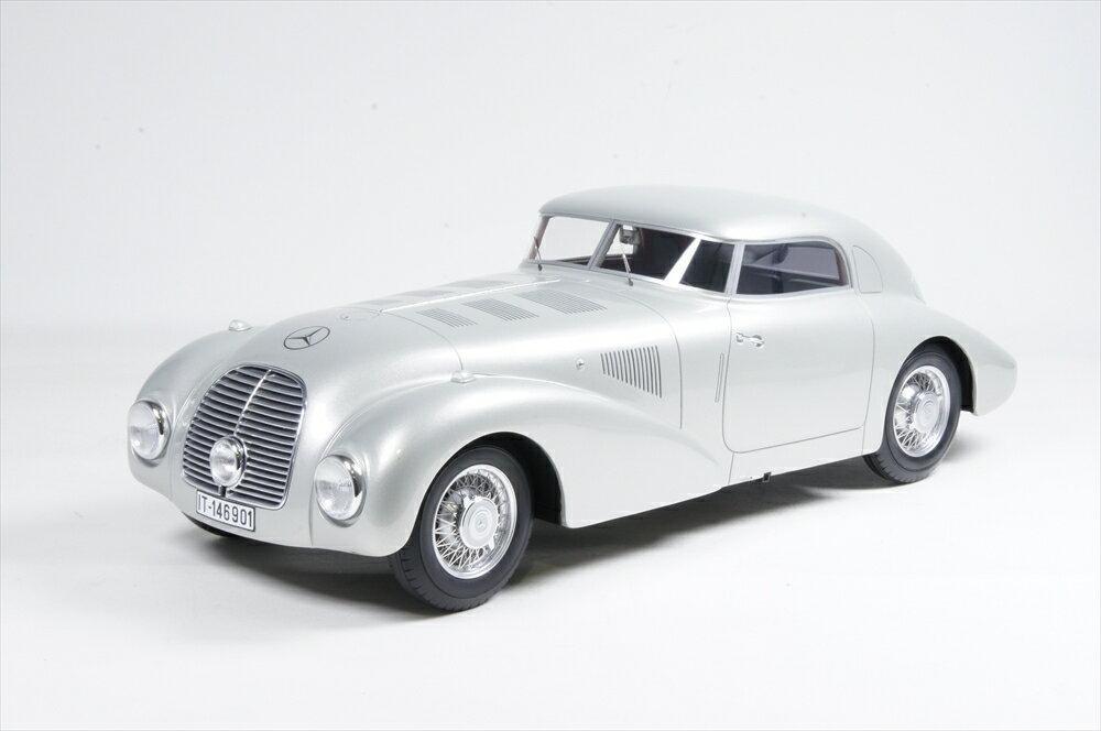 ミニカー ボスモデルズ (BOS231) 1/18 メルセデス 540 K (W29) ストリームライン 1938 シルバー