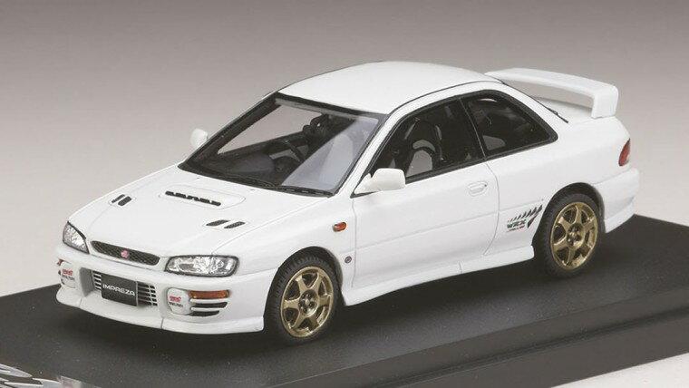 ミニカー MARK43 (PM4357SW) 1/43 スバル インプレッサWRX タイプR Sti Ver.1997(GC8) スポーツホイール フェザーホワイト