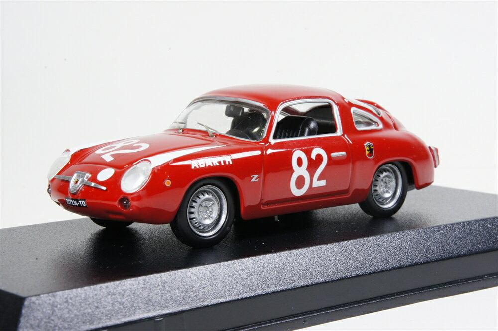 ミニカー ベストモデル (BEST9669) 1/43 フィアット アバルト 850 ザガート No.82 1960 ニュルブルクリンク500km Castelina/Vinatier ウイナー