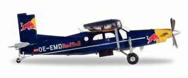 【予約】 ヘルパウイングス 1/72 ピラタス PC-6 ターボポーター The Flyingブルs OE-EMD 完成品 艦船・飛行機 HE580304