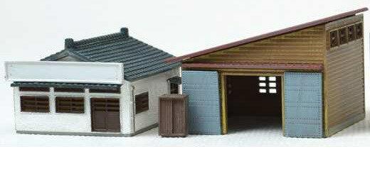【予約】 トミーテック 建コレ154 事務所と作業場A 鉄道模型パーツ 286493