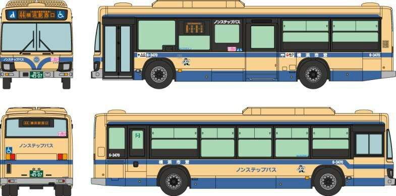 【予約】 トミーテック 全国バスコレクション JB041−2 横浜市交通局 鉄道模型パーツ 286929