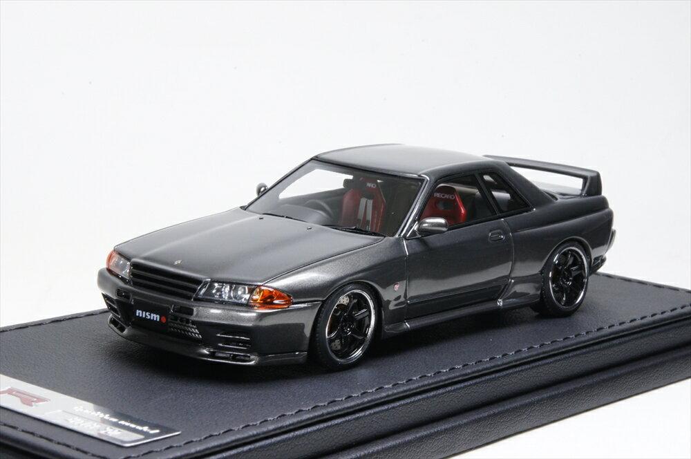 イグニッションモデル Nismo R32 GT-R S-tune Gun メタリック Nismo-Wheel 1/43 完成品ミニカー IG0799
