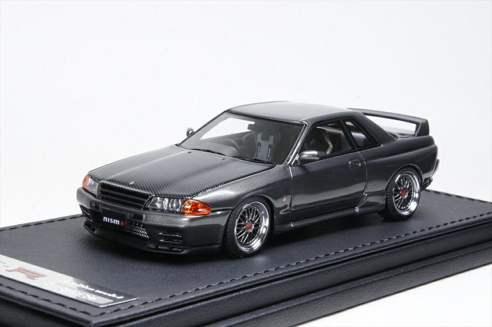 イグニッションモデル Nismo R32 GT-R S-tune ガングレーメタリック 1/43 完成品ミニカー IG0926