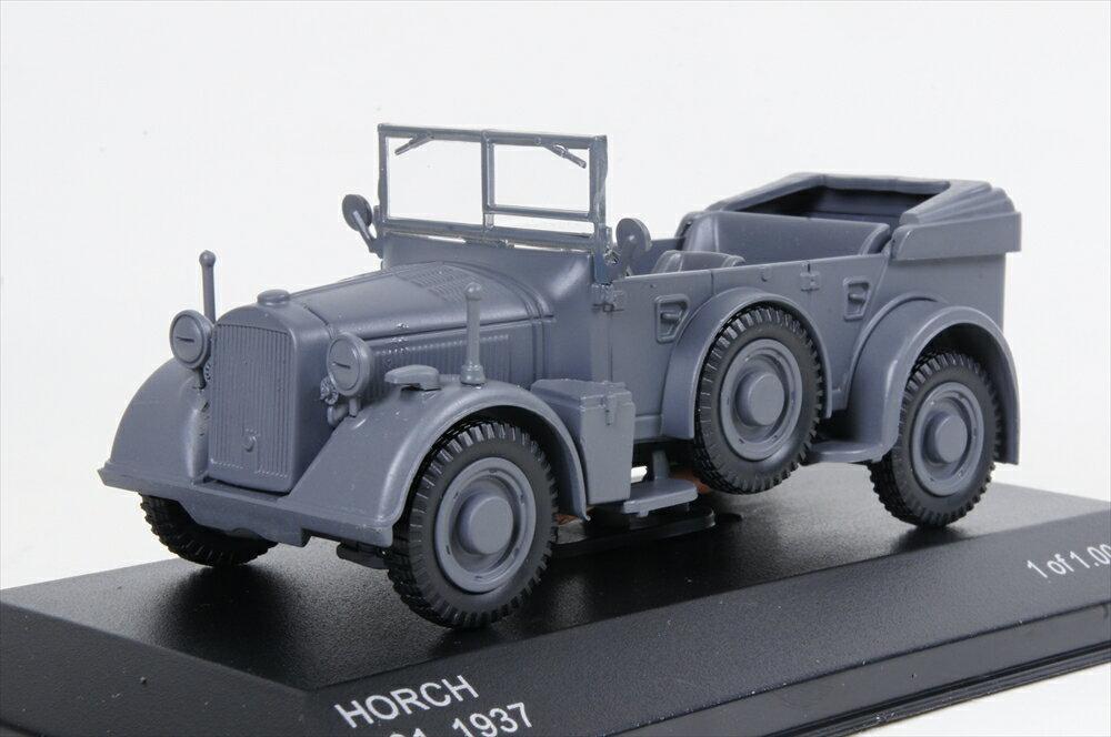 ホワイトボックス 1/43 ホルヒ 901 1937 マットダークグレー 完成品ミニカー WB257