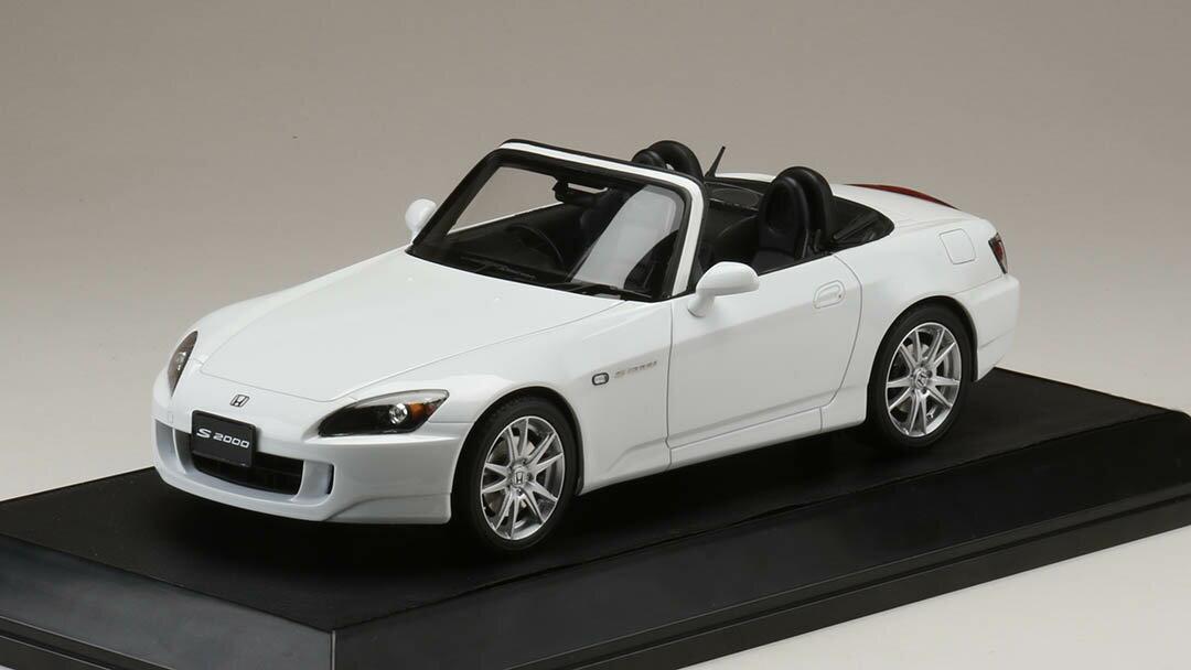【予約】 HobbyJAPAN18 1/18 ホンダ S2000 (AP1-200) グランプリホワイト 完成品ミニカー HJ1810W