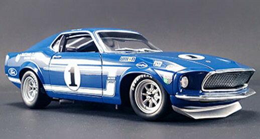 【予約】 ACME 1/18 Boss 302 フォード トランザム マスタング No.1 1969 ライム・ロック・パーク ウイナー S.Posey 完成品ミニカー A1801819