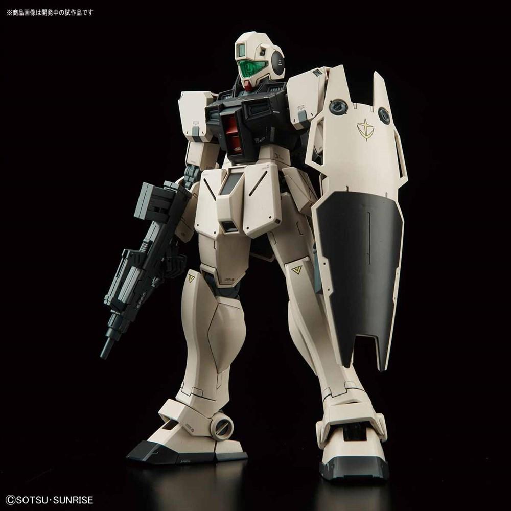 バンダイ MG 1/100 ジム・コマンド(コロニー戦仕様) 「機動戦士ガンダム0080 ポケットの中の戦争」より ガンプラ 0222257