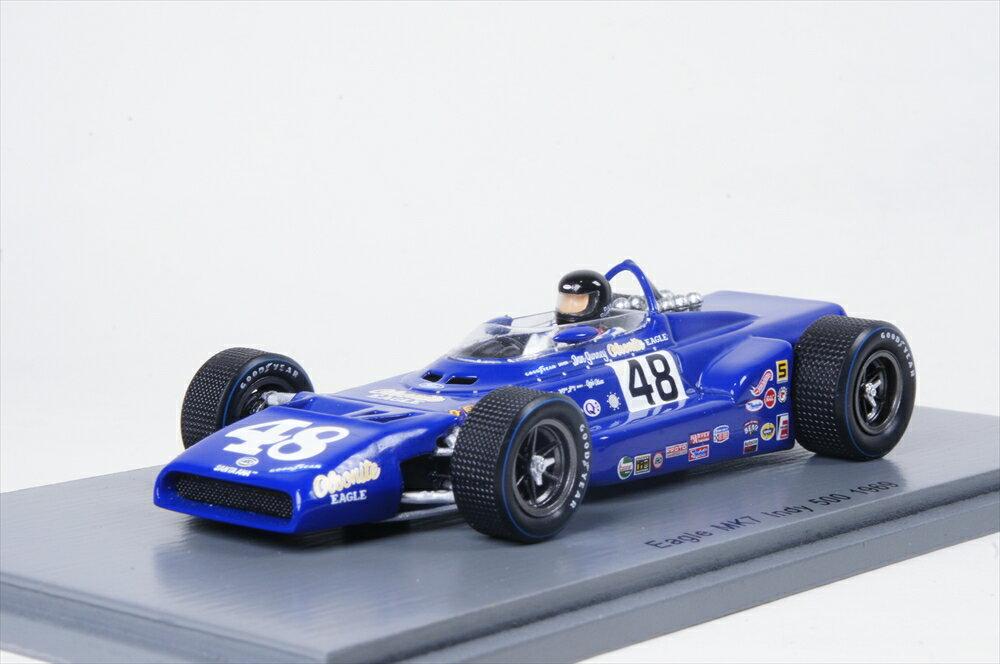 スパーク 1/43 イーグル MK7 No.48 1969 インディ500 D.ガーニー 完成品ミニカー S4261