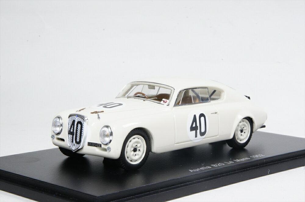 スパーク 1/43 ランチア アウレリア B20 No.40 1952 ル・マン24時間 F. Bonetto/E. Anselmi 完成品ミニカー S4392