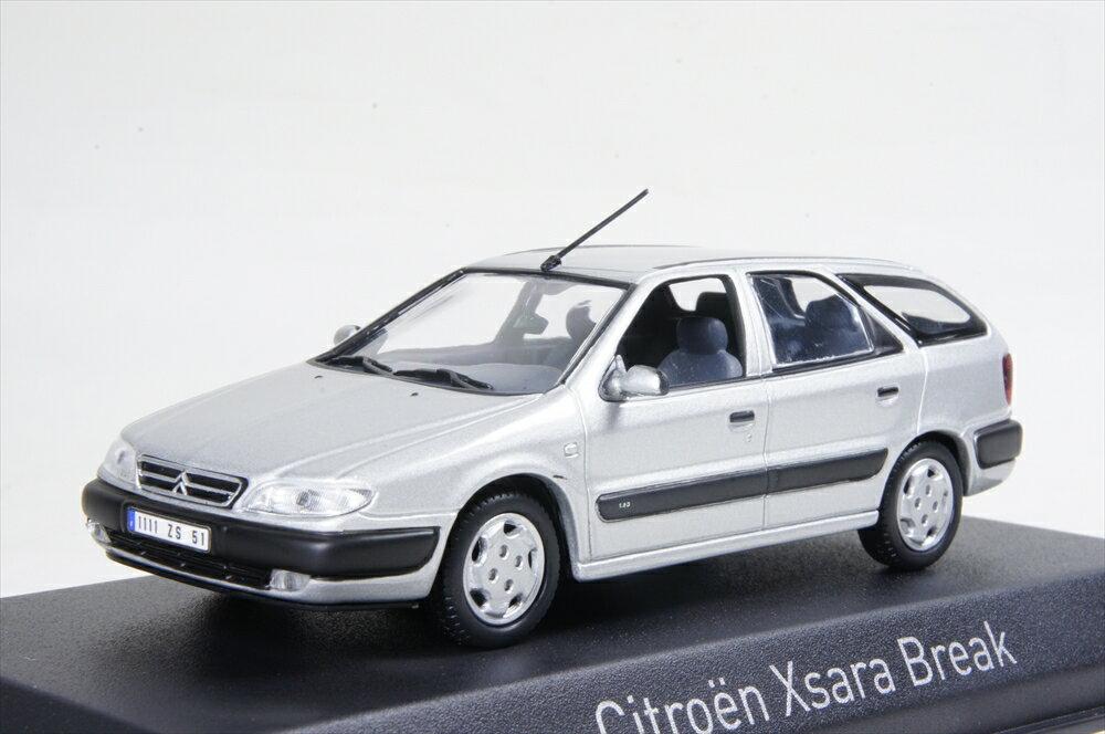 ノレブ 1/43 シトロエン クサラ ブレーク 1998 クォーツメタリックグレー 完成品ミニカー 154306