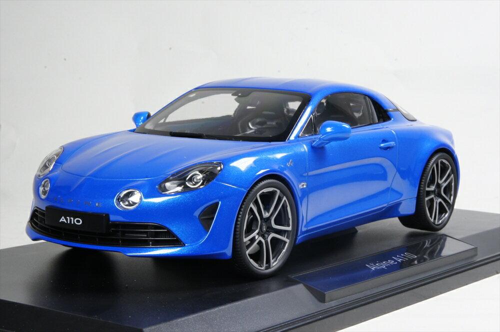 ノレブ 1/18 アルピーヌ A110 プレミアエディション 2017 メタリックブルー 完成品ミニカー 185148