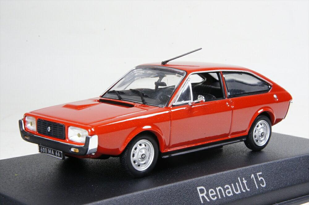 ノレブ 1/43 ルノー 15 TL 1976 レッド 完成品ミニカー 511504