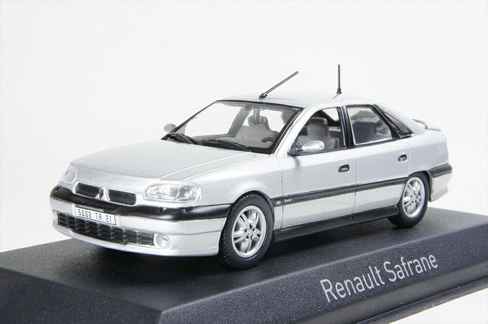 ノレブ 1/43 ルノー サフラン Biターボ バカラ 1993 シルバー 完成品ミニカー 517747