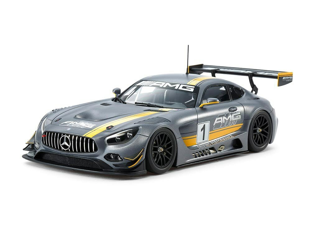 タミヤ 1/24 メルセデス AMG GT3 スポーツカーシリーズ No.345 スケールプラモデル 24345