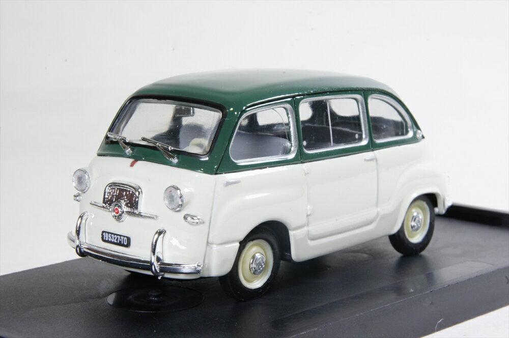 ブルム 1/43 フィアット 600 ムルティプラ 1a シリーズ 1956 ダークグリーン/グレー 完成品ミニカー R250-14