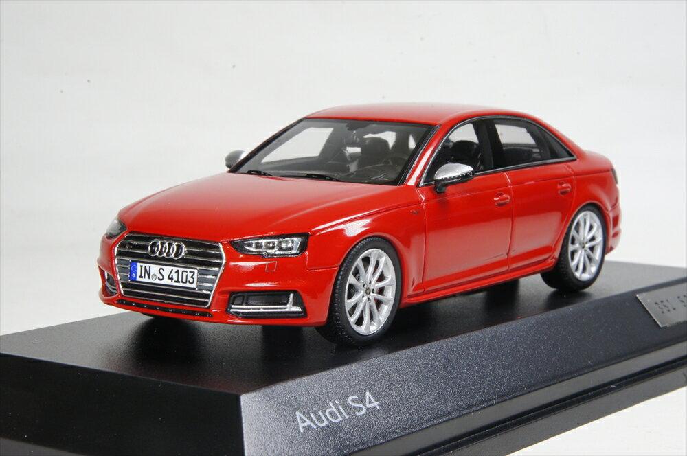 ミニカー 1/43 アウディ特注/スパーク Audi/Spark(5011614113) アウディ S4 ミサノレッド 2016