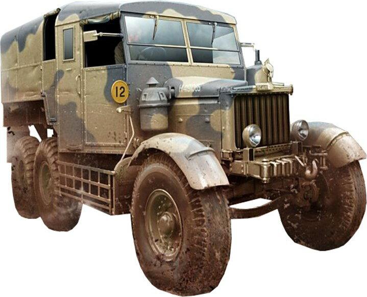 【予約】 サンダーモデル 1/35 英・スキャメルパイオニア重砲牽引トラクターR100 スケールプラモデル TH35202