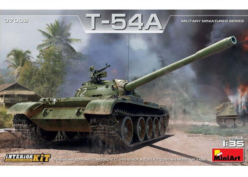 ミニアート 1/35 T-54Aフルインテリア(内部再現) スケールプラモデル MA37009