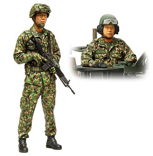 タミヤ 1/16 陸上自衛隊 戦車乗員セット スケールプラモデル 36316