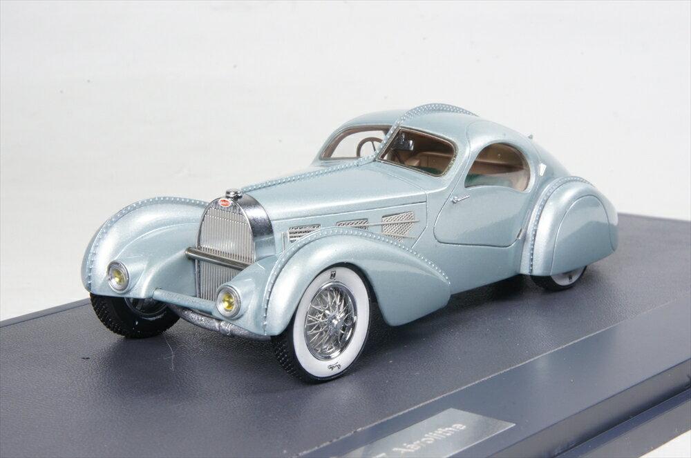 ミニカー 1/43 マトリックス MATRIX(MX40205-051) ブガッティ タイプ 57 エアロライト 1934 ブルー
