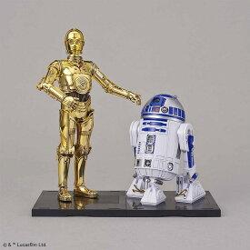 バンダイ 1/12 C-3PO & R2-D2 「STAR WARS」より プラモデル 223297