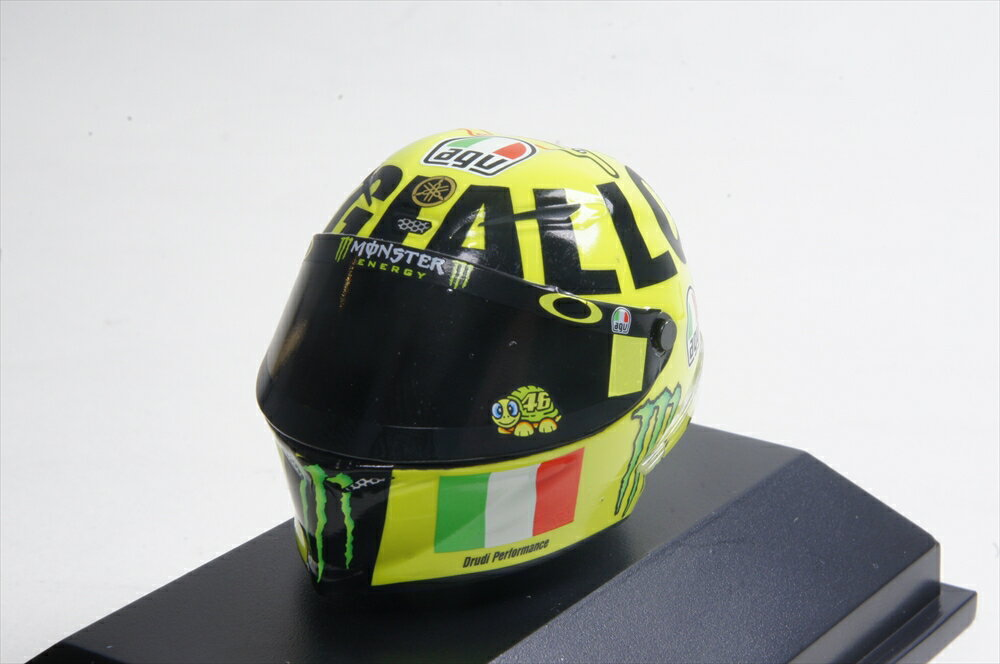 ミニチャンプス 1/8 AGV ヘルメット 2016 モトGP ムジェロGP V.ロッシ 完成品ミニカー 398160086