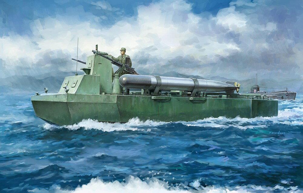 """【予約】 ドラゴン 1/35 WW.II 日本海軍 特四式内火艇 """" カツ"""" 魚雷搭載型 竜巻作戦 1944 スケールプラモデル DR6849"""